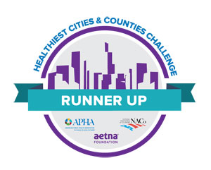 Healthiest Cities & Counties Challenge Runner Up